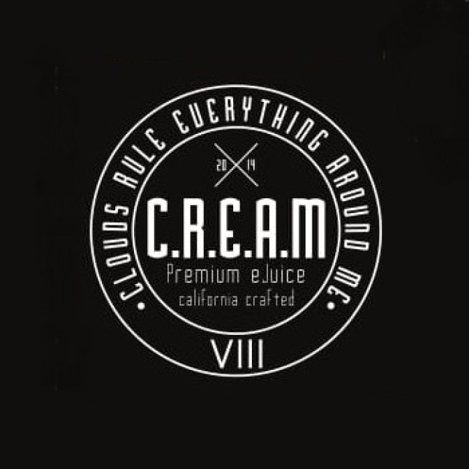 C.R.E.A.M. - VIII (Strawberries & Cream) 4x10ml Pack