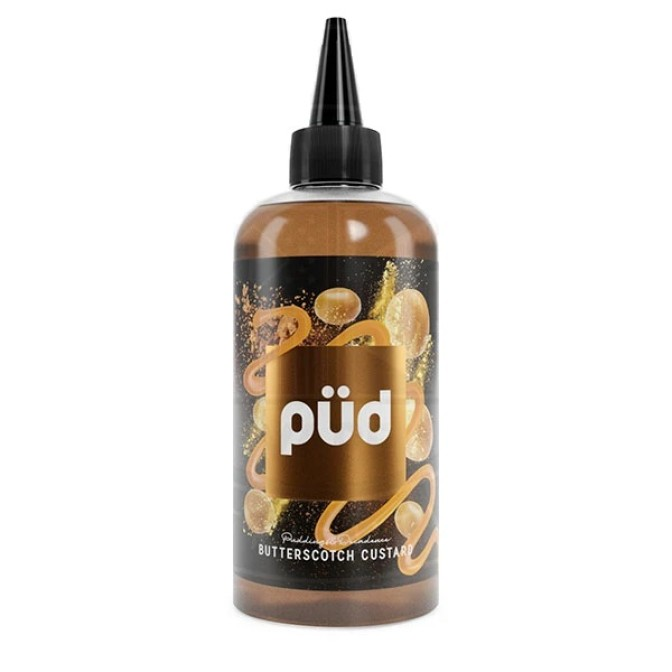 PUD PUDDING & DECADENCE BUTTERSCOTCH CUSTARD 0MG 200ML SHORTFILL E-LIQUID