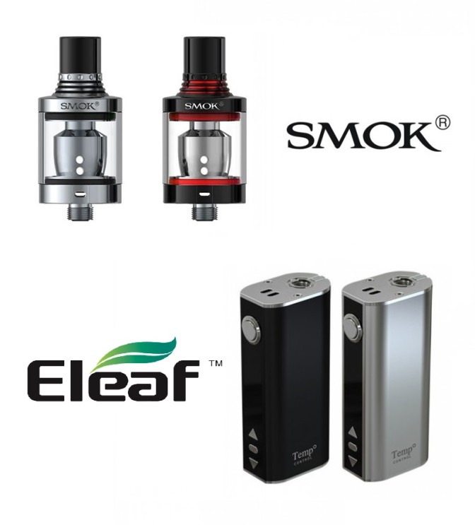 Smok Spirals + Eleaf iStick 40TC Kit