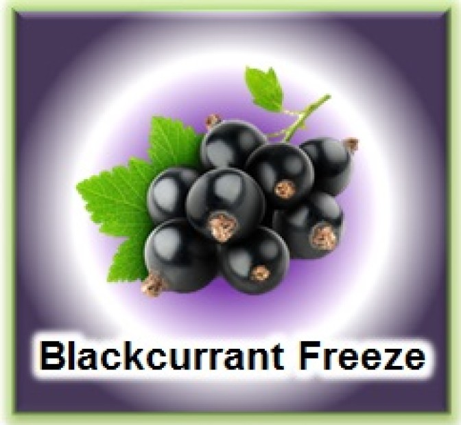 VaperVapour - Blackcurrant Freeze 50ml Short Fill