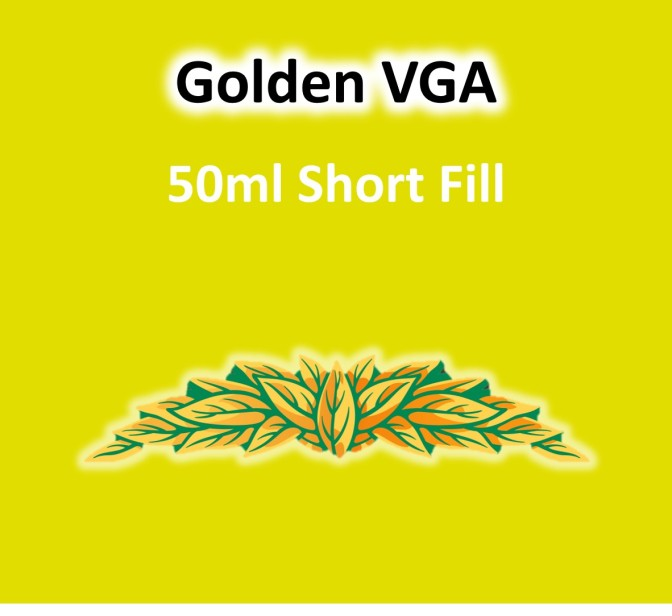 VaperVapour - Golden VGA 50ml Short Fill
