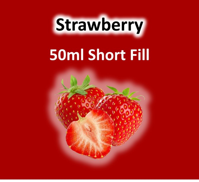 VaperVapour - Strawberry 50ml Short Fill
