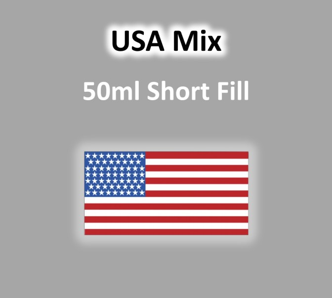 VaperVapour - USA Mix 50ml Short Fill
